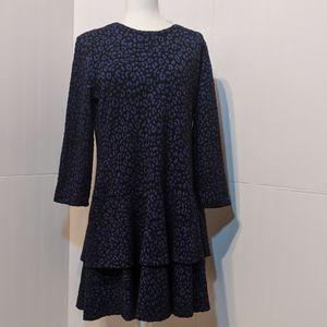 MICHAEL Michael Kors Cheetah Jacquard Dress XL
